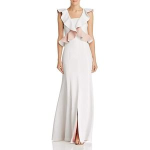 C/Meo Collective Elation Ruffle Sleeveless Gown